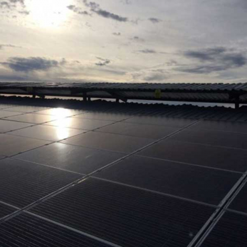 250 kw Güneş Panelli Sistem